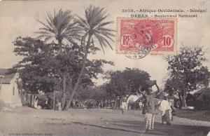 Senegal Dakar Boulevard National 1919