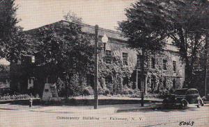 Community Building, Falconer, New York, PU-1910