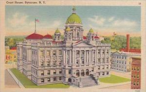 New York Syracue Court House