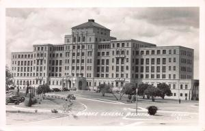 Brooke General Hospital, San Antonio, Texas, Early Real Photo Postcard, Unused
