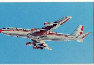 FIRST WITH JETS ACROSS THE U.S.A. 600 mile-an-hour AMERICAN AIRLINES 707