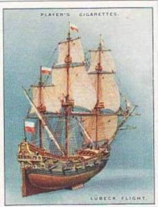 Player Vintage Cigarette Card Ship Models 1926 No 7 Lubeck Flight 1690