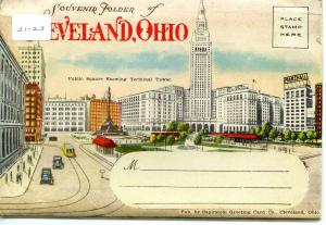 Folder - OH - Cleveland 30 views+covers+narrative  (Label attached to sleeve,...
