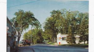 Partial View Of Lake Street, Phillipsburg, Quebec, Canada, 1940-1960s