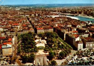 France Lyon Vue Aerienne Place Carnot