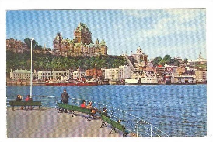 La Cite De Quebec Vous Souhaite La Bienvenue, Quebec, Canada, 40-60s