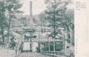 NEW HAVEN , Connecticut, Pre 1907; Water Ride, iAmusement Park