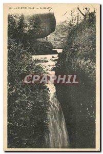Old Postcard The Huelgoat Chasm