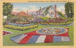 American Legion Emblem Roger Williams Park Providence Rhode Island