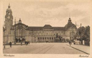 Germany Wiesbaden Bahnhof 02.68