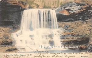 Dorothy Falls Roscoe NY 1906