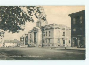 Unused Linen COURT HOUSE Bridgeton New Jersey NJ n4513