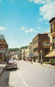 Looking South On Main St., Galena, Ill.