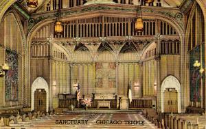 IL - Chicago. The Chicago Temple Sanctuary (Interior)
