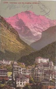 Switzerland Interlaken und die Jungfrau 1910