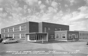 Brookings South Dakota State College Real Photo Antique Postcard K82184