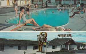 PUEBLO , Colorado , 50-60s ; Rambler Motel, Entrance & Swimming Pool