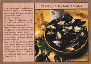 Recipes Cuisine De Bretagne Moules A La Saint-Malo