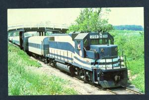 NY Long Island Railroad Train Loco 258 CUTCHOGUE NEW YORK LIRR Postcard RR PC