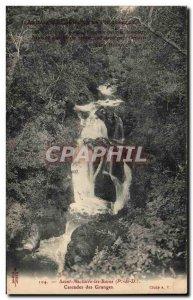 Saint Nectaire - Cascades Granges Old Postcard