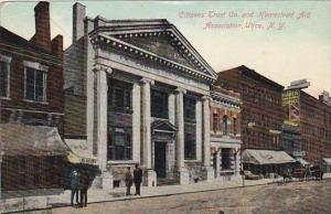New York Utica Citizens Trust Bank &  Homestead Aid Association 1909