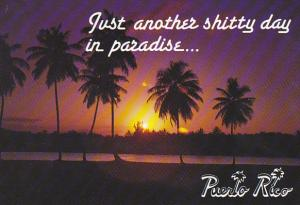 Puerto Rico Sunset Another Shitty Day In Paradise