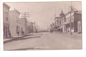 Real Photo, Great Town Scene, Coleman, Alberta, Photo by Gage