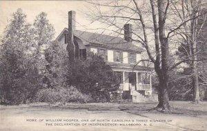 North Carolina Hillsborough Home Of William Hooper Albertype