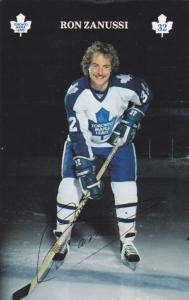 Ice Hockey Player Toronto Maplelwafs RON ZANUSSI, Ontario, Canada , 60s