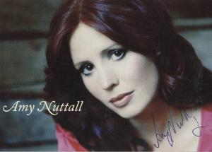 Amy Nuttall Emmerdale Downtown Abbey Hand Signed Photo