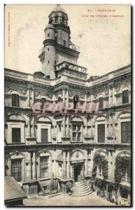 Old Postcard Old Postcard Toulouse Court of 39hotel & # d & # 39Assezat