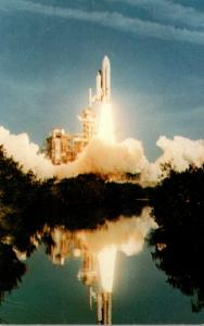 Florida Kennedy Space Center Space Shuttle Columbia Launch 12 April 1981