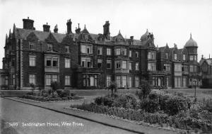 Sandringham House, West Front, Norfolk, Real Photograph