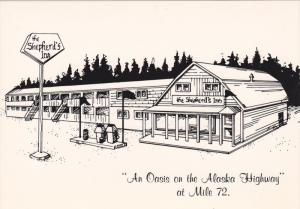 The Shepherd's Inn,  on the Alaska Hwy at Mile 72.,  Fort St. John,   B.C.,  ...