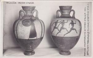 RP; BOLOGNA, Emilia-Romagna, Italy; Museo Civico, Anfore Panatenaiche da Tomb...