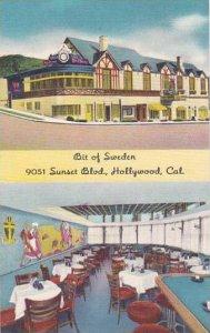California Hollywood Bit Of Sweden Restaurant