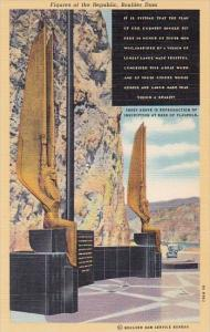 Nevada Boulder Dam Figures Of The Republic