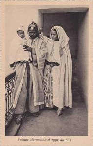 Morocco Femme Marocaine et type du Sud