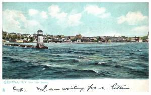 New York Geneva  Lighthouse  Seneca Lake
