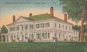 Government House, CHARLOTTETOWN, Prince Edward Island, Canada, PU-1947