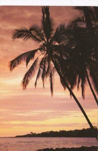 Hawaii A Big Island Sunset 1998