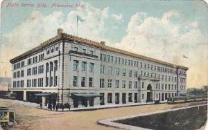 Wisconsin Milwaukee Public Service Building 1909