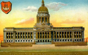 KY - Frankfort. State Capitol.   (Gold Foil, Heavily Embossed)