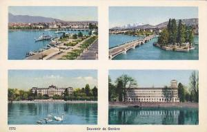 Schweiz Geneve Souvenir Multi View
