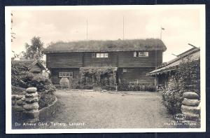 Alfven's Gard Tallberg Sweden RPPC unused c1920's