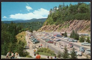 TN Newfound Gap Parking Area Great Smoky Mountains National Park cars - Chrome
