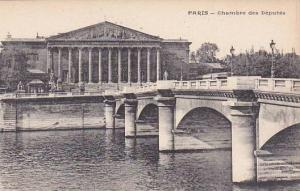 France Paris Bridge & Chambre des Deputes