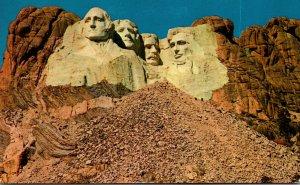 South Dakota Black Hills Mount Rushmore Memorial 1958