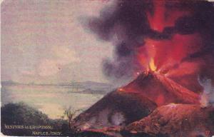 Vesuvius in Eruption, Naples, Campania, Italy, 00-10s