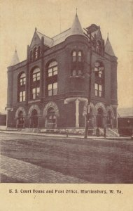MARTINSBURG , West Virginia, 1910 ; Court House & Post Office